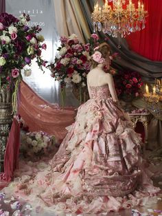 #WedPin #AAWEP #Pantone #RoseQuartz #Serenity #RococoInspired  #MarieAntoinette #Poppiesweddings
