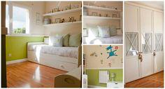 Habitación con armarios empotrados, tarima flotante, calefacción y muy luminosa.