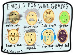 #wine #emoticons
