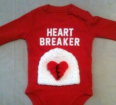 Valentine's Day outfit for baby boys or girls  Red by rbsDesigns, $29.00