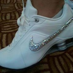 bedazzled nike shox...love it! Per Chloe they are very fashionable