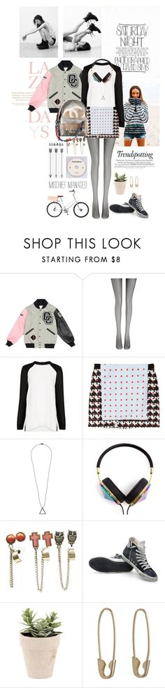 """""""Sports Luxe"""" by bittersweet89 ❤ liked on Polyvore featuring Lazy Days, Dunn, Opening Ceremony, Wolford, MANGO, Thakoon Addition, Chanel, SELECTED, Frends and Wet Seal"""