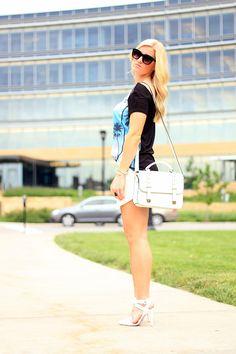 Sunset www.KatalinaGirl.com #zara #skort #summer #fashion #blogger