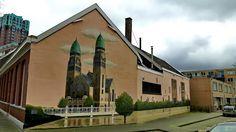 Wall paints, Muurschilderingen, Peintures Murales,Trompe-l'oeil, Graffiti, Murals, Street art.: Rotterdam - Netherlands koninginnekerk artist - S. Overheul, P. Breevoort, A. Janssen