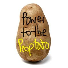 With #power comes get #responsibility. #potatomessage