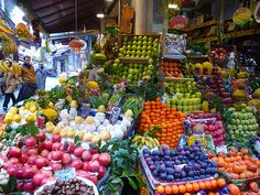 Turkish fruit shop