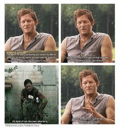 Norman on Daryl