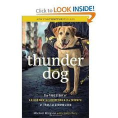 this doggy led his blind owner down o78 flights of stairs to safety on 9/11 at the world trade center.  a true hero.    it is a book about the human/animal bond, trust and love. http://www.amazon.com/gp/mpd/permalink/m3OJ05S2FE5ZBG/ref=ent_fb_link
