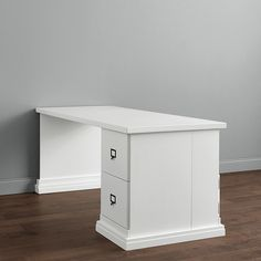 Wood Top - Desk Return Group with Standard Cabinet & Shallow Cabinet