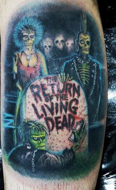 return of the living dead tattoo