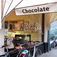 """Nice chocolates hidden in Amsterdam Oost at """"Van Velze's""""... http://sweetmatterphysicist.com/hidden-chocolates-van-velze/"""