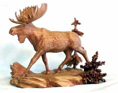 """Trotting Moose"""