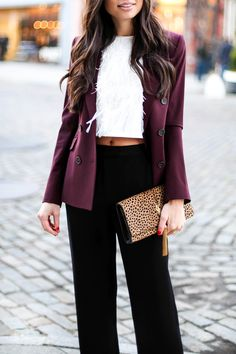 New Years Ever Outfit Inspiration | Kat Tanita from With Love From Kat | Feather Top
