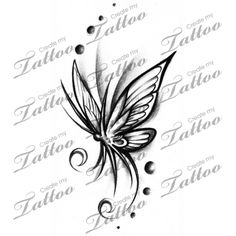 Marketplace Tattoo Butterfly #11307 | CreateMyTattoo.com