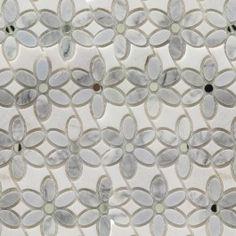 Shop for Highland Zinnia Carrara and Gray Mirror and Marble Tiles at TileBar.com