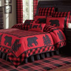 Black Bear Retreat Quilt Bedding                                                                                                                                                                                 More