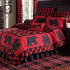 Black Bear Retreat Quilt Bedding