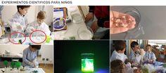 Crea y aprende con Laura: Experimentos Científicos para Niños, una sencilla ... Einstein, Blog, Science Experiments For Kids, Funny Science, Single Wide, Tools, Blogging