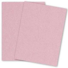 Stardream Metallic - 8.5X11 Card Stock Paper - ROSE QUARTZ - 105lb Cover (284gsm) - 25 PK