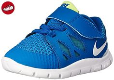 Nike Free 5 (TDV), Baby Jungen Lauflernschuhe, Blau (Military Blue/White-Polarized Blue-Midnight Navy 400), 21 EU (*Partner-Link)
