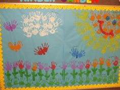 Spring Bulletin Board #bulletinboard #preschool