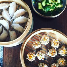 At the end of the tumultuous week that was the 2016 US presidential election, it was relaxing to make and eat dumplings with a friend. My kind of depressurizing.