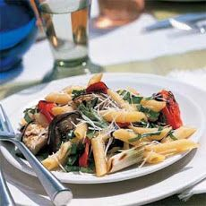 Grilled Italian Vegetable with Pasta Recipe