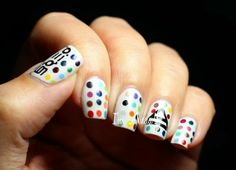 LOVE LUST FAITH+DREAMS Nails 30 Seconds to Mars