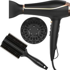 xtava Voluminous Toolkit - Double Shine Ionic Hair Dryer and Double Bristle Body Brush >>> This is an Amazon Affiliate link. Be sure to check out this awesome product.