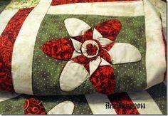 artemelza - patchwork flor TUTORIAL