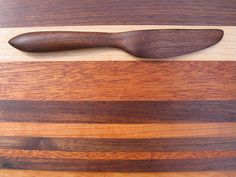 Walnut Spread Knife