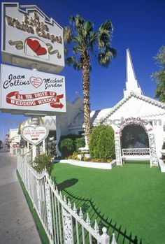 fine 8 Things You Should Know Before Embarking On The Little White Wedding Chapel Vegas Las Vegas Chapels, Lego Wedding, Wedding Stuff, Butterfly Wedding Theme, Little White Chapel, Wedding Window, Rockabilly Wedding, Wedding Themes, Wedding Styles
