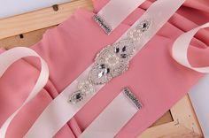 Wedding Belt Bridal Belt Bridesmaid Belt Sash Belt by Marrymanor