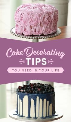 13 really useful tips for those who like to bake pies - Yummy-Lecker-Schmecker - Cake Design Creative Cake Decorating, Cake Decorating Techniques, Creative Cakes, Decorating Ideas, Pretty Cakes, Beautiful Cakes, Liquid Food Coloring, Let Them Eat Cake, No Bake Cake