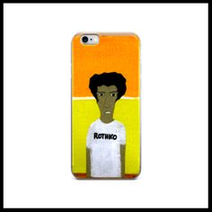 iPhone case - Man on orange and yellow http://www.houseofterrance.com/patrick-earl-for-hot-fashions/iphone-case-man-on-orange-and-yellow