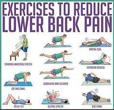 Back pain? exercises