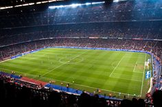 Who wouldn't want to play here?     Immense.