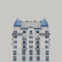 Zsolt Hlinka's Urban Symmetry Photographs Reimagine Danube River Architecture,© Zsolt Hlinka
