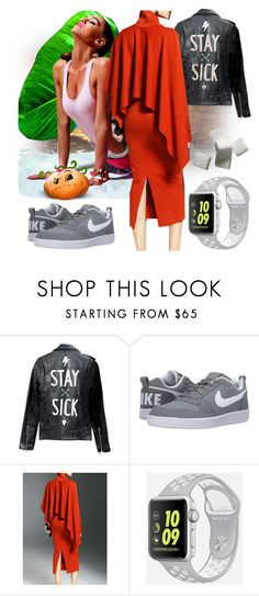 """Thanks A Lot"" by black-wings ❤ liked on Polyvore featuring Deadwood and NIKE"