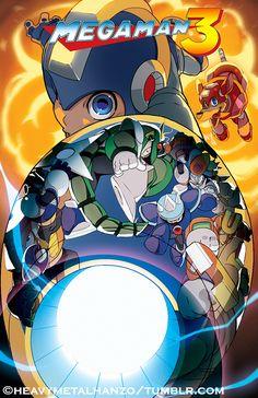 Mega Man 3 by HeavyMetalHanzo on DeviantArt