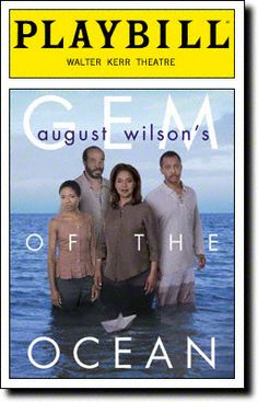 Gem of the Ocean Playbill Covers on Broadway - Information, Cast, Crew, Synopsis and Photos - Playbill Vault