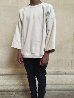 Image of Beige Sweatshirt