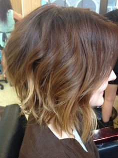 sombre for short hair-LOVE these colors!