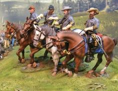 Civil War Confederate Generals complete set - Made by The Collectors Showcase Military Miniatures and Models. Factory made, hand assembled, painted and boxed in a padded decorative box. Excellent gift for the enthusiast.