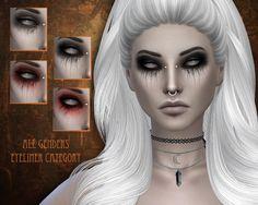 Sims 4 Cc Eyes, Sims Cc, Bat Tattoos, Sims 4 Couple Poses, Vampire Eyes, Sims 4 Pets, Blood Tears, Scary Eyes, The Sims 4 Packs