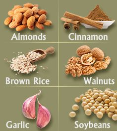 Cholesterol Lowering Foods List