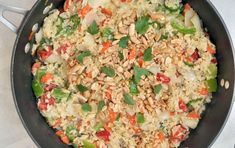 Have a taste of Thailand with this colorful, veggie-rich coconut rice!