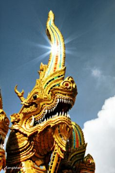 Captured at Wat Phrathat Doi Kham, ChiangMai