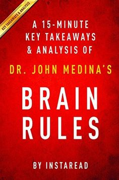 I would like to read this book in my business classes.  This short version may help struggling students or those whoe have difficulty with reading.  Brain Rules: by Dr. John Medina | A 15-minute Key Takeaways & Analysis: 12 Principles for Surviving and Thriving at Work, Home, and School, http://www.amazon.com/dp/B00T9UTW3S/ref=cm_sw_r_pi_awdm_C3Drxb8GF118Q