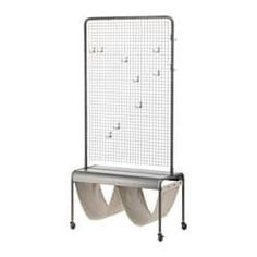 IKEA VEBEROD Natural Room divider IKEA – VEBERÖD, Room divider, Use the included hooks to hang things and decorations on the mesh wall – or why not have a green plant climb it?Each piece of furniture has a unique personality since natural marks and traces Room Divider Headboard, Metal Room Divider, Small Room Divider, Bamboo Room Divider, Living Room Divider, Room Divider Walls, Diy Room Divider, Room Divider Bookcase, Cheap Room Dividers
